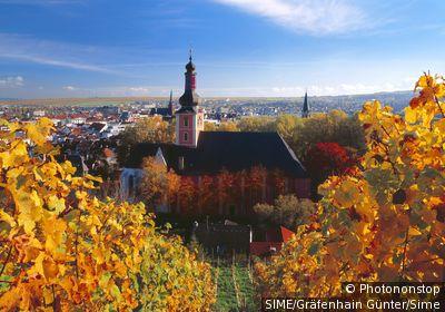 Germany / Rhineland-Palatinate, Rheinland-Pfalz / Bad Kreuznach / Paulus church, Nahe valley