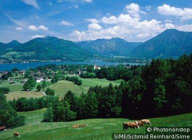 Germany / Bavaria, Bayern / Bad Wiessee / Tegernsee lake, Oberbayern