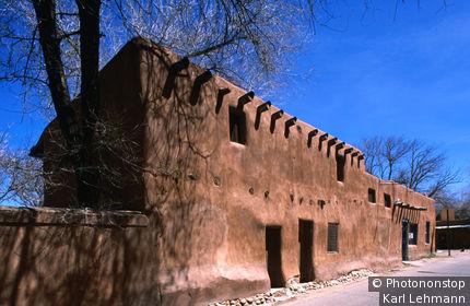Oldest adobe house in the oldest neighbourhood, Barrio de Analco