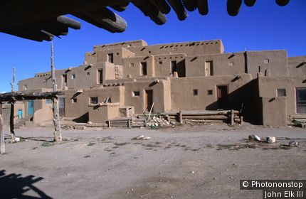 Taos Pueblo, North Pueblo. Taos, New Mexico, United States of America