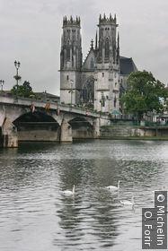 Vue le long de la Moselle.