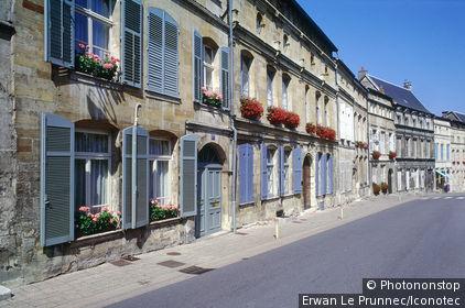 France, Meuse (55), Lorraine, Bar-le-Duc, rue des ducs de Bar