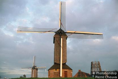 Villeneuve d'Asq, moulin à vent