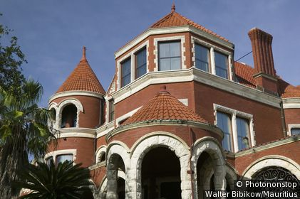 usa, Texas, Galveston, buildings, outside-facade, close-up