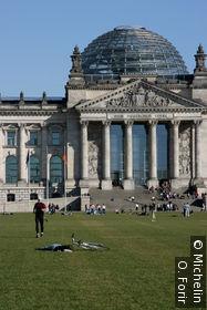 Le Deutscher Bundestag.