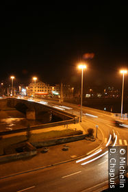 Pont Solférino de nuit