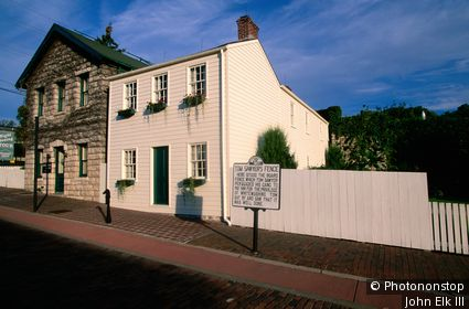 Mark Twain's boyhood home. Hannibal, Missouri, United States of America