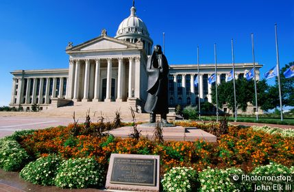Oklahoma State Capitol. Oklahoma City, Oklahoma, United States of America