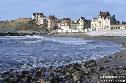 Wimereux, villas en front de mer