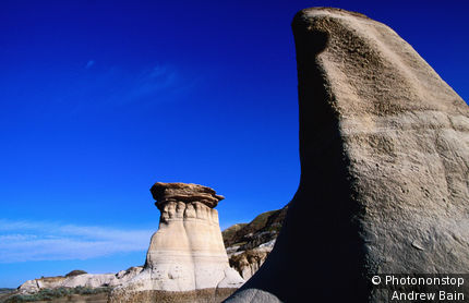 Hoodoos south of the town of Drumheller.