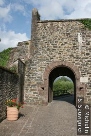 Vers la citadelle Vauban