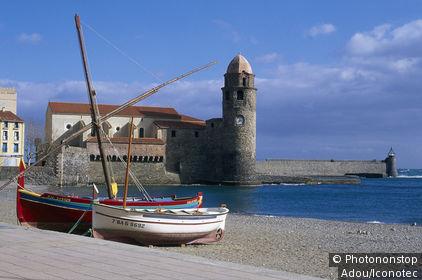 France, Pyrénées Orientales (66), Languedoc Roussillon, Collioure
