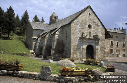 Font Romeu, chapelle de l'Ermitage
