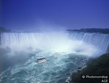 Canada, Ontario, chutes du Niagara