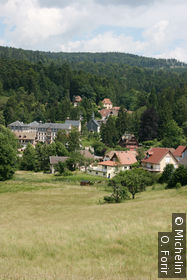 Le village Le Hohwald.
