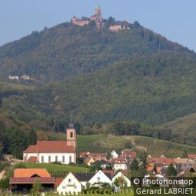 67. Orschwiller, village au pied du château du Haut Koenigsbourg