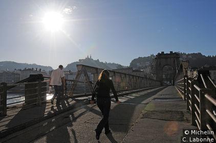Passerelle entre Vienne et Saint-Romain-en-Gal