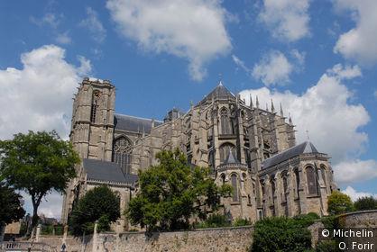 La cathédrale st Julien.