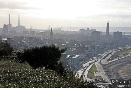 Le Havre et la côte