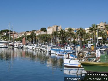 France, Provence, Bandol, the harbour