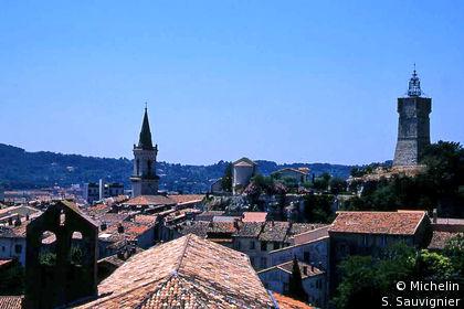 Les toits de la vieille ville
