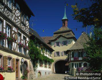 Germany, Deutschland, Baden-Württemberg, Black Forest, Schwarzwald, Südlicher Schwarzwald, Burkheim im Breisgau