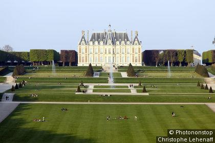 Hauts de Seine, Sceaux, parc de Sceaux, château de Sceaux