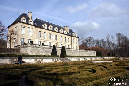 Château d'Auvers et jardin