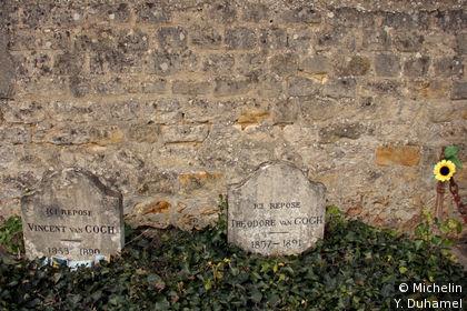 Tombes de Vincent et Theo Van Gogh