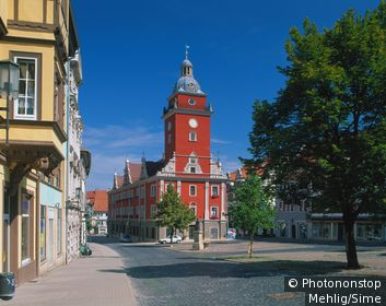 Allemagne, Thuringe, Gotha - Town hall on the market square