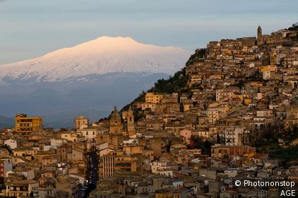 Italy, Sicily, Agira village