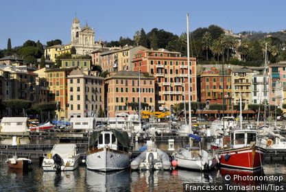 Italy, Liguria, Santa Margherita Ligure, the harbour