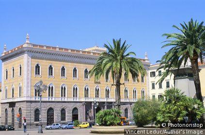 Italie - Sardaigne - Région Nord - Sassari - Piazza d'Italia