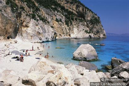 Italie, Sardaigne, province de Nuoro, golfe d'Orosei, Cala Gonone