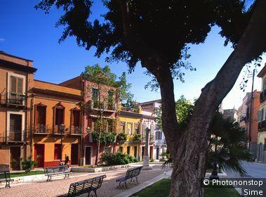 Italie, Sardaigne, Cagliari, Zone Méditerranéenne, Province de Cagliari
