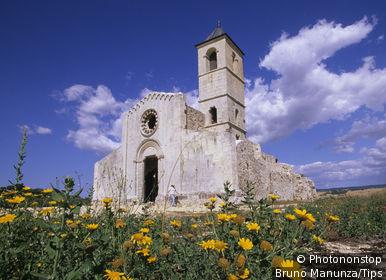 Italy, Sardinia, Martis. S. Pantaleo church