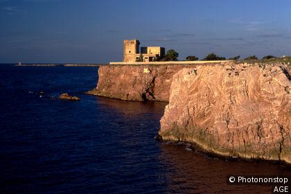 Sicily, Terrasini. Cala Rossa
