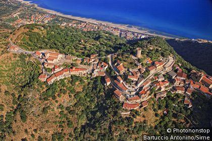 Italie, Sicile, Piraino, Zone Méditerranéenne, Méditerranée, Province de Messina