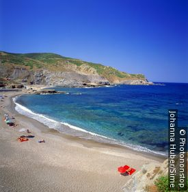 Italy, Sardinia, Argentiera, Beach