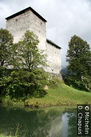 Le château de Kaprun