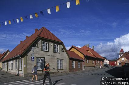 Estonia, Viljandi, Tallina Street