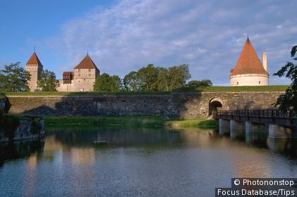 Kuressaare Episcopal Castle.
