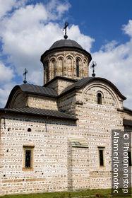 Roumanie, Valachie, Curtea de Arges, église princière Saint Nicolas