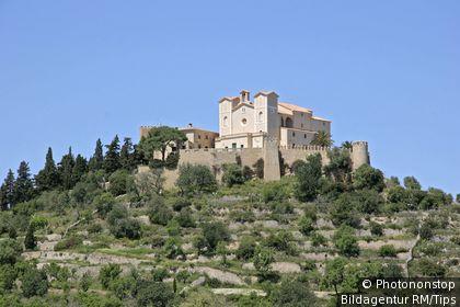 Majorca, view upon Arta