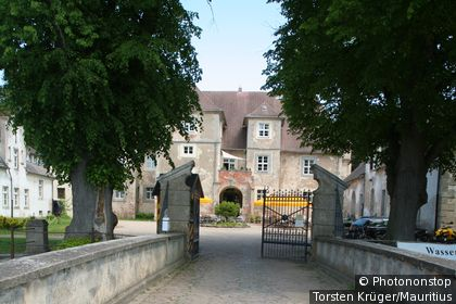 Germany, Mecklenburg-Western Pomerania, island Usedom, water-palace Mellenthin,