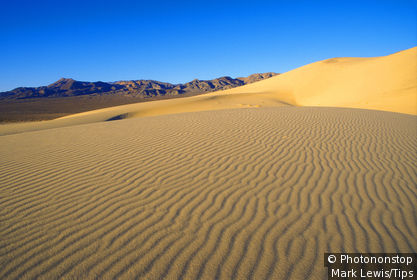 North America, USA, California, Death Valley, Eureka Dunes,