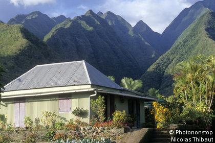 Ile de la Reunion, commune d'Entre-Deux