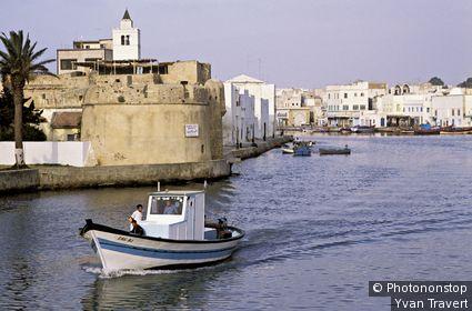 Tunisie, Bizerte, vieux port