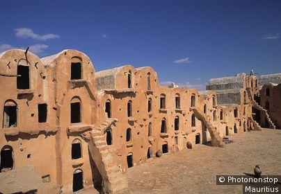 Tunesien, Ouled Soltane, Ksar, Ortsansicht Ort, Siedlung, Berbersiedlung