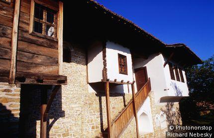Historical Konstantsalieva house museum. Arbanasi, Lovech, Bulgaria